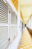 Tuol Sleng (S21)监狱,金边 免版税库存图片
