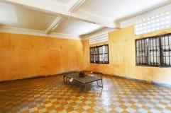 Tuol Sleng (S21)监狱,金边 图库摄影