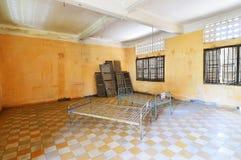 Tuol Sleng (S21)监狱,金边 免版税库存照片