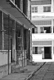 Tuol Sleng s21种族灭绝博物馆,金边,柬埔寨 免版税库存照片