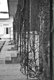 Tuol Sleng s21种族灭绝博物馆,金边,柬埔寨 图库摄影