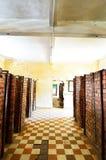 Tuol Sleng (S21) fängelse, Phnom Penh Arkivfoton