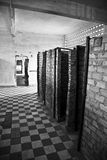 Tuol Sleng s21 genocide museum, Phnom Penh, Cambodia. Cambodia's notorious Tuol Sleng s21 secret prison- interior view of the cells Royalty Free Stock Images