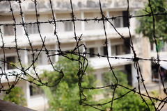 Tuol Sleng (S21) Prison in Phnom Penh Stock Photo