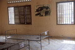 Tuol Sleng (S21) Prison in Phnom Penh Stock Images
