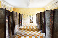 Tuol Sleng (S21) Prison, Phnom Penh Royalty Free Stock Images