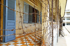 Tuol Sleng (S21) Prison, Phnom Penh Royalty Free Stock Photo