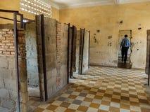 Tuol Sleng więzienie Zdjęcie Royalty Free