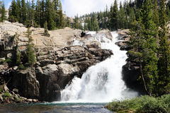 Tuolumne Falls waterfall Stock Images