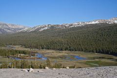 Tuolumne Meadows, Tioga pass, Yosemite Royalty Free Stock Photos