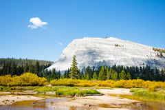 Tuolumne River. In Yosemite National Park Stock Images