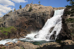 Tuolumne waterfall Stock Image