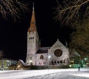 Tuomi kirkko Tammerfors finland Royaltyfria Bilder