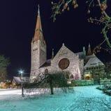 Tuomi kirkko Tammerfors finland Fotografering för Bildbyråer