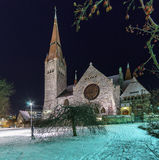 Tuomi kirkko.Tampere. Finland. Stock Image