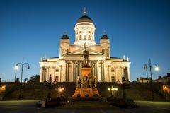 Tuomiokirkko, Хельсинки Стоковая Фотография RF