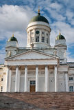 Tuomiokirkko cathedral Helsinki. Finland Royalty Free Stock Photos