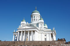 Tuomiokirkko church Royalty Free Stock Photography