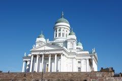 Tuomiokirkko church Royalty Free Stock Photography