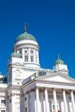 Tuomiokirkko church in Helsinki, Finland Stock Photo