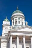 Tuomiokirkko church in Helsinki, Finland Royalty Free Stock Photo