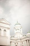 Tuomiokirkko church Helsinki Finland Royalty Free Stock Photos