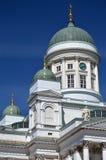 Tuomiokirkko della cattedrale o di Helsingin di Helsinki Fotografie Stock