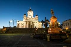 Tuomiokirkko, Helsinki Stock Image