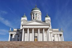Tuomiokirkko Kathedrale, Helsinki, Finnland Stockfoto