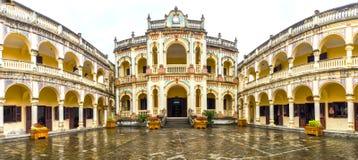 Tuong皇家宫殿全景教区国王西北越南 图库摄影