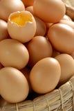 Tuorlo d'uovo Fotografia Stock