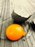 Tuorlo d'uovo Fotografia Stock Libera da Diritti