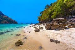 Tup Island, AO Nang, Krabi, Thailand. royalty free stock image