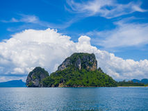 The Tup island in Krabi T Stock Photography