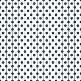 Tupfen mit Linie nahtloses Muster des Vektors Stockbild