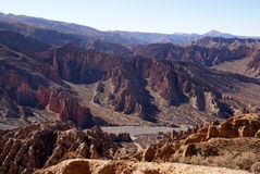 Tupiza, Боливия Стоковые Фото