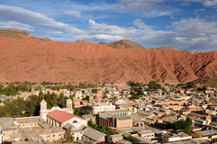 Tupiza - beautifull city landscape in Bolivia Royalty Free Stock Photography