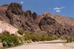 Tupiza - beautifull countryside in Bolivia Stock Photo