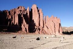 Tupiza, Bolivië Stock Foto's