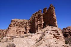 Tupiza, Bolivië Stock Foto