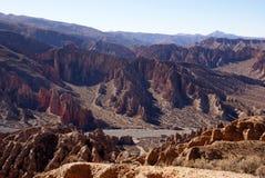 Tupiza, Bolivia Fotos de archivo