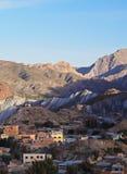 Tupiza in Bolivien Stockfoto