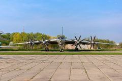tupolev 142 плоский tu Стоковые Изображения RF