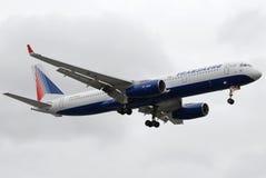 Tupolev 204 de Transaero Imagem de Stock