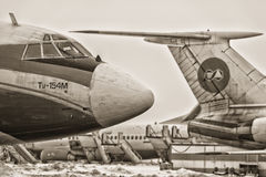 Tupolev Στοκ εικόνα με δικαίωμα ελεύθερης χρήσης
