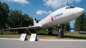 Tupolev-154M immagini stock libere da diritti