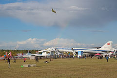 Tupolev TU-144 αεροπλάνο Στοκ φωτογραφία με δικαίωμα ελεύθερης χρήσης