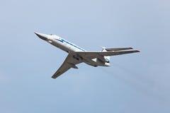 Tupolev Tu-134 (nombre de la información de la OTAN: Crujiente) Foto de archivo libre de regalías