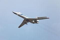Tupolev Tu-134 (nome di segnalazione di NATO: Crostoso) Fotografia Stock Libera da Diritti