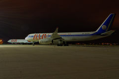 Tupolev TU-204-100 Lizenzfreies Stockbild
